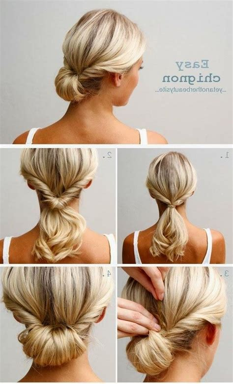 Diy Wedding Hairstyles With Bangs by 15 Best Collection Of Hairstyles Do It Yourself