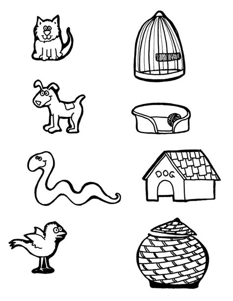 Animal Homes Coloring Pages janice s daycare coloring sheet activities