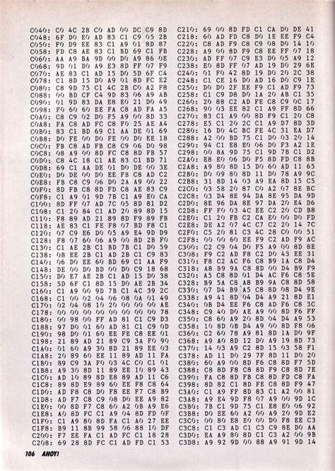 Lehmkuhl blog: machine code