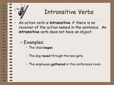 sentence pattern intransitive verb verbs ppt video online download
