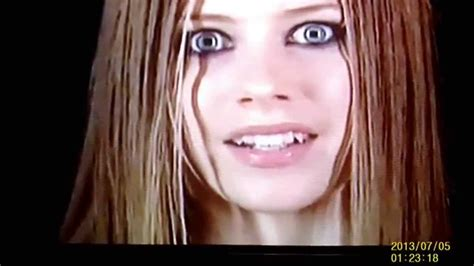 Shape Shifting by Avril Lavigne Square Pupils Teeth Morphing Reptilian