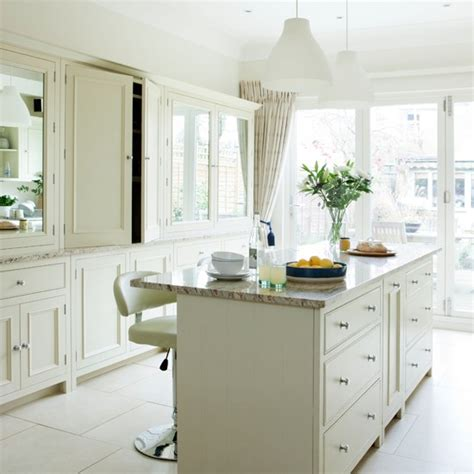 traditional kitchens with white cabinets traditional white kitchen housetohome co uk