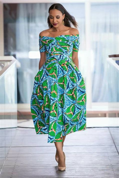 Independence Slay green ankara styles in celebration of the independence