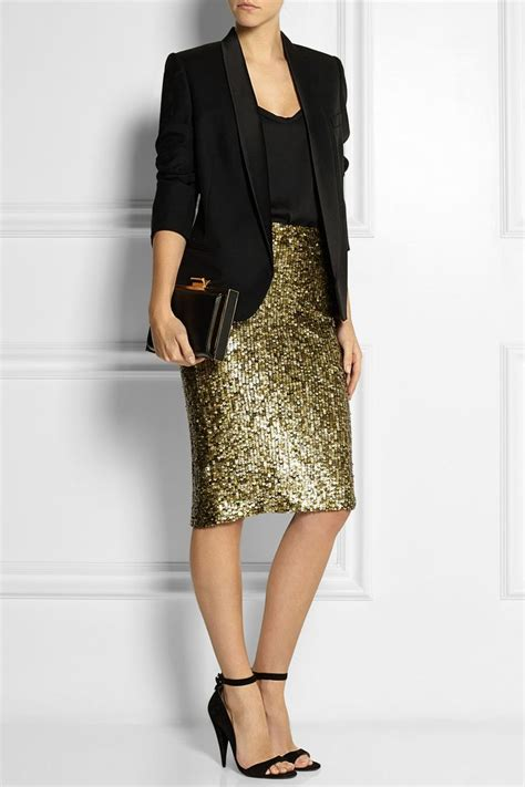 1000 ideas about gold skirt on pencil