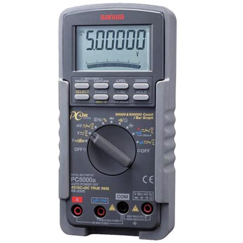Multimeter Sanwa Pc 5000 sanwa pc5000a digital multimeter meter digital