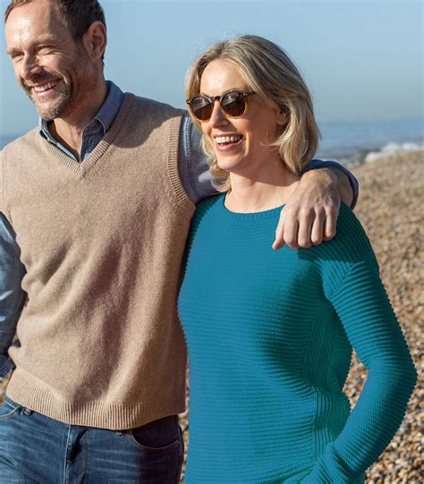 boat neck christmas jumper light teal pure cotton womens cotton textured boat neck