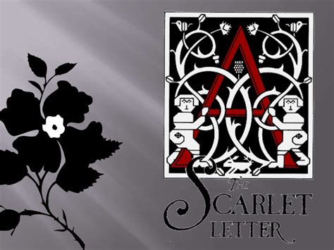 Scarlet Letter Bush The Scarlet Letter Stylistics