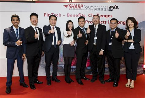 Hk Mba by Cityu Sharp Forum Fintech Benefits Challenges
