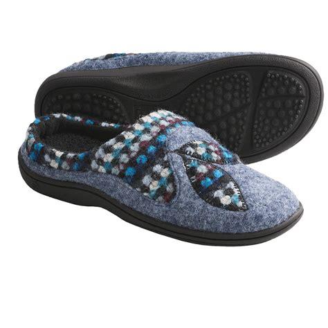 italian slippers acorn drew mule slippers felted italian wool blend for