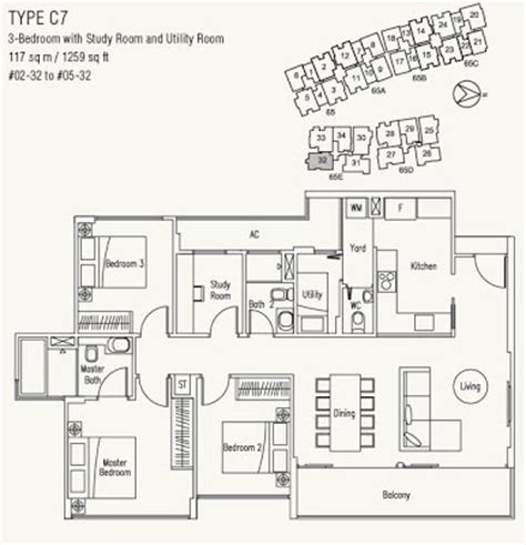 waterscape floor plan waterscape floor plan waterscape at cavenagh for rent 2
