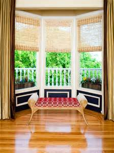 Window Treatment For Bay Windows Decor Modern Bay Window Styling Ideas