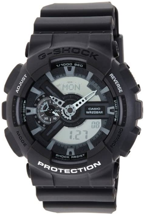 Jam Tangan Casio G Shock Gac110 Black Grey other watches casio s ga110c 1a g shock analog digital grey resin was listed