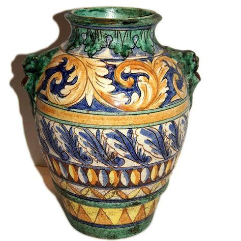 Italian Ceramic Vase by Italian Ceramic Vase For Sale At 1stdibs