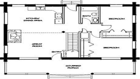 tiny cabins floor plans small cabin floor plans simple small house floor plans