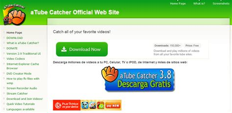 descargar atube catcher para windows 7 gratis descargar gratis atube catcher linux 2015
