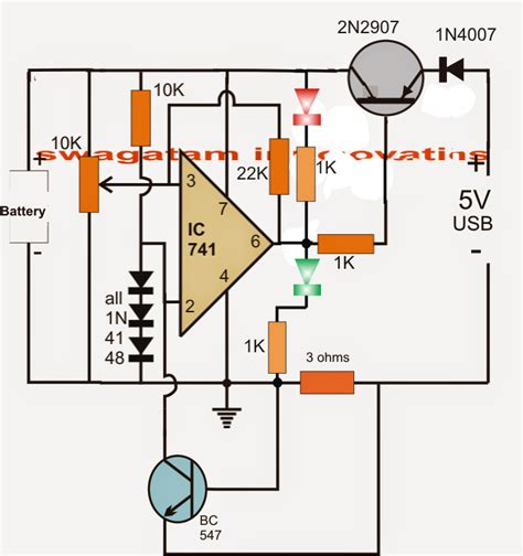 lithium ion battery charger circuit usb 3 7v li ion battery charger circuit auto cut