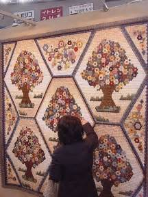 Hexagon Tree Quilt