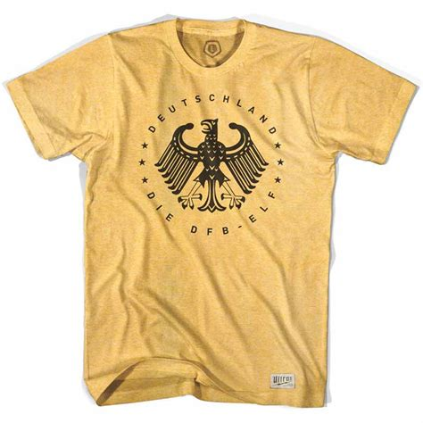 Germany T Shirt germany deutschland vintage eagle soccer yellow t shirt