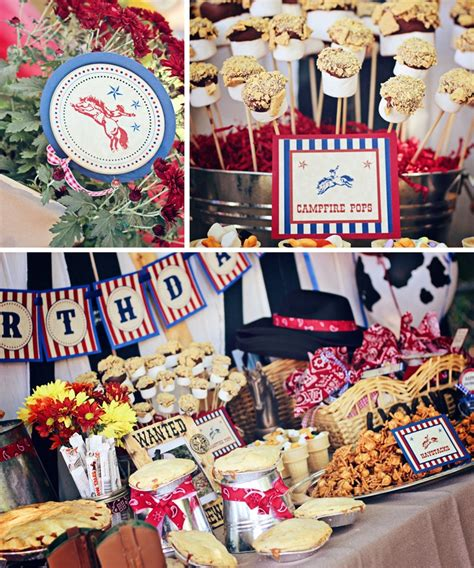 printable cowboy party decorations western cowboy party decorations printable party package