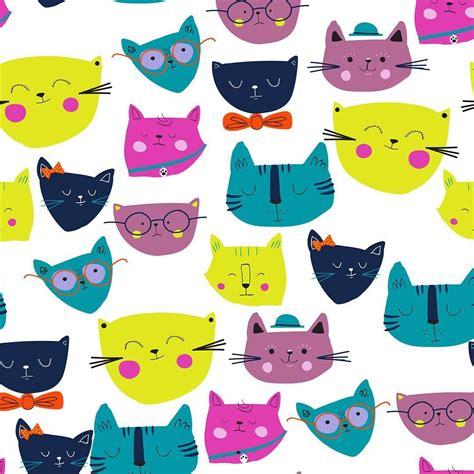 patternbank app kitties by alice rebecca potter available on patternbank