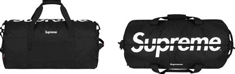 supreme bag supreme duffle bag