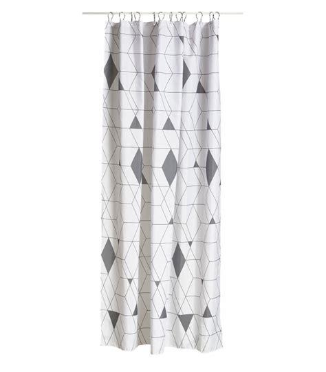 rideau de gris rideau de en polyester arlequin gris et blanc wadiga