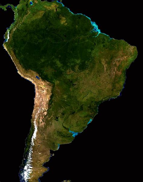 imagenes satelitales argentina tiempo real satellite view of south america full size