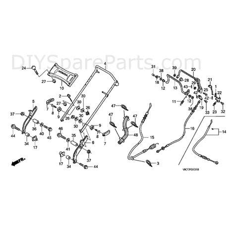 honda hrx217 parts diagram honda hrx 426 qx lawnmower hrx426c qxe matf parts