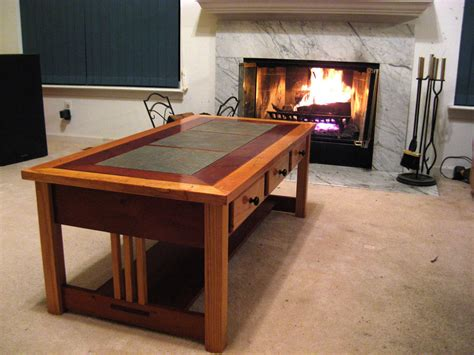 woodwork mission style coffee table pdf plans