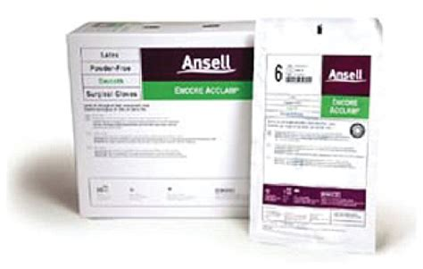 ansell encore sterile powder free ansell encore acclaim sterile gloves gloves glasses
