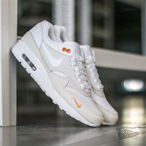 Nike Air Max 1 White Premium Quality nike air max 1 premium white kumquat graysands co uk
