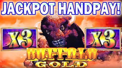 jackpot handpay buffalo gold slot machine bonus mega