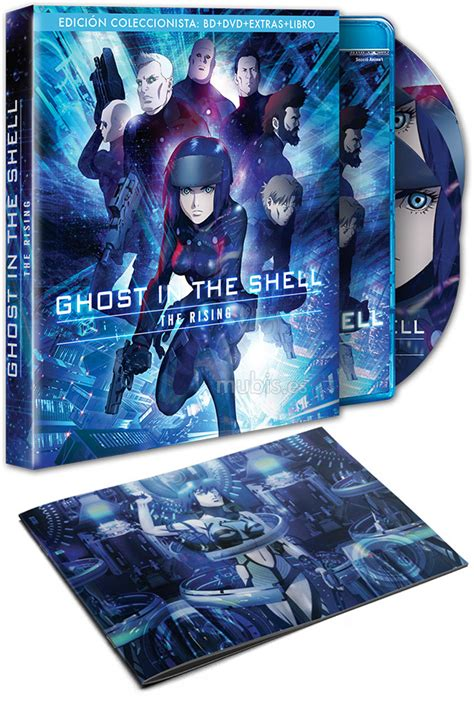 libro new ghost the 17x23 ghost in the shell the rising edici 243 n coleccionista blu ray