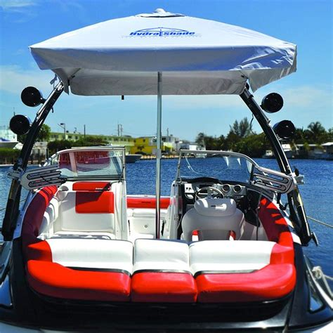 boat with umbrella hydra shade xl 100 boating umbrella with