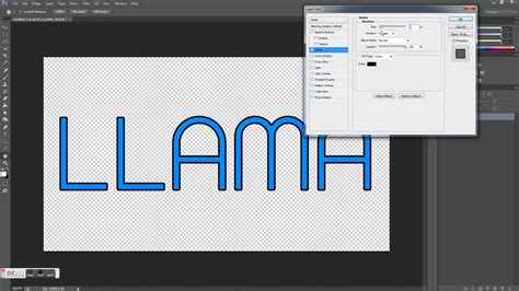 tutorial photoshop outline how to outline letters in photoshop how to format cover