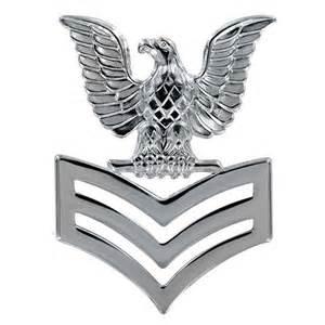 usn silver e 6 petty officer class cap device vanguard