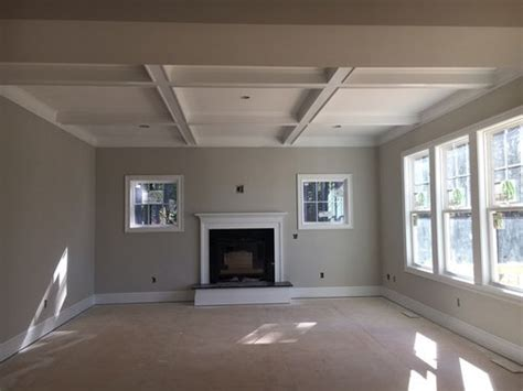 coffer ceiling color agreeable gray walls