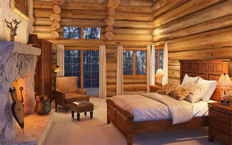 Log Cabin Style Curtains by Rustic Style Decor Canadian Log Homes