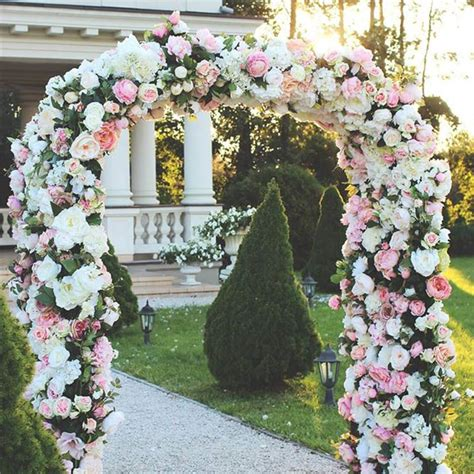 Wedding Arch Frame Uk by Wedding Arches 19 Of The Most Beautiful Way To Decorate