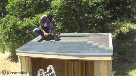 shed roof asphalt