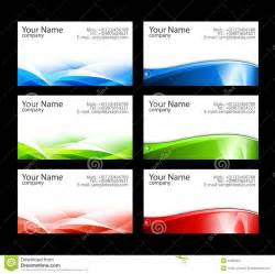 business cards templates illustrator free