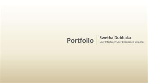portfolio swetha dubbaka pdf