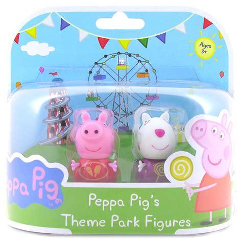 theme park peppa pig peppa pig figuras parque tem 225 tico opci 243 n de 5 s 243 lo uno