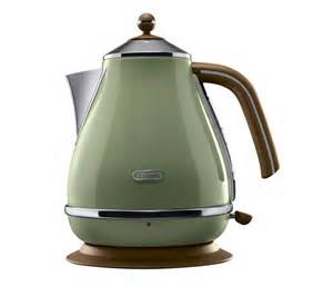 Delonghi Green Kettle And Toaster 0210110048 Delonghi Icona Vintage Kbov3001gr Jug Kettle
