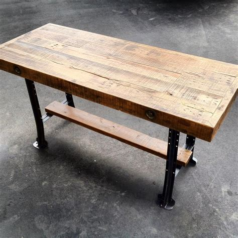 Reclaimed Wood Counter Height Dining Table Reclaimed Oak Counter Height Table Heirlooms And Hardware