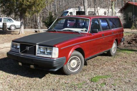 used volvo 240 parts sell used 1983 volvo 240 wagon of parts no