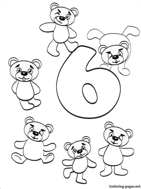 coloring pages for the number 13 number 6 coloring page free coloring page number 13