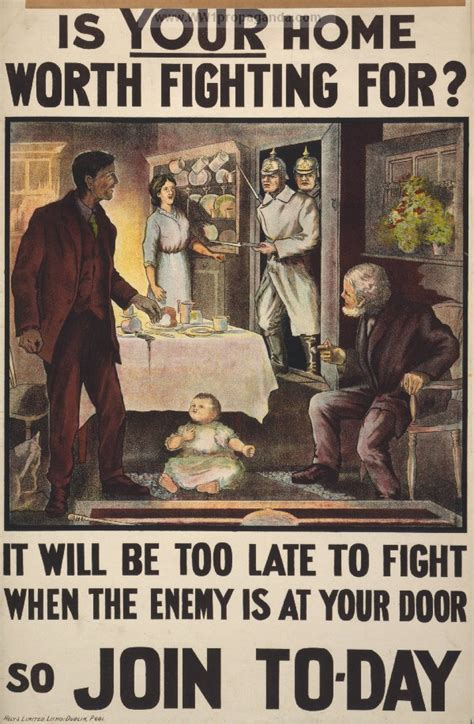 Great Are Worth Fighting For by Exles Of Propaganda From Ww1 Is Your Home Worth