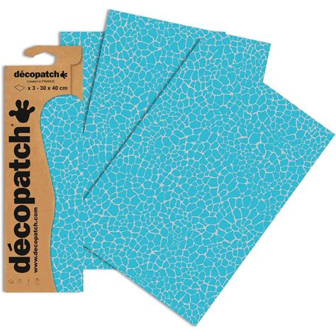 printable fabric sheets hobbycraft decopatch blue reptile print paper 3 sheets hobbycraft