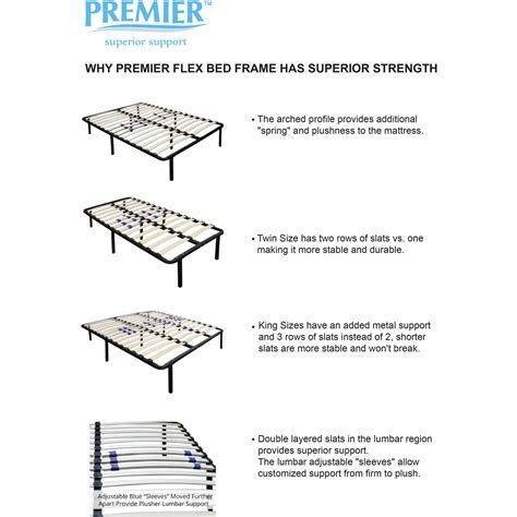 Premier Simple Adjustable Platform Bed Frame Premier Simple Adjustable Platform Bed Frame Premier Simple Adjustable Platform Bed Frame